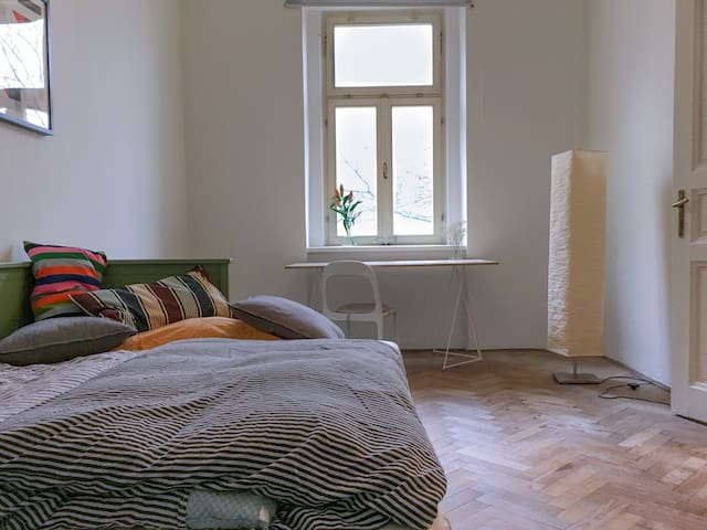 Light, spacious and lovely room in Letná area