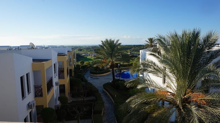 A13 Mazotos Hills 3 modern apartment  - sea view