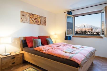 Charmantes chambres au  ♡ du Valais - Chamoson - Guesthouse