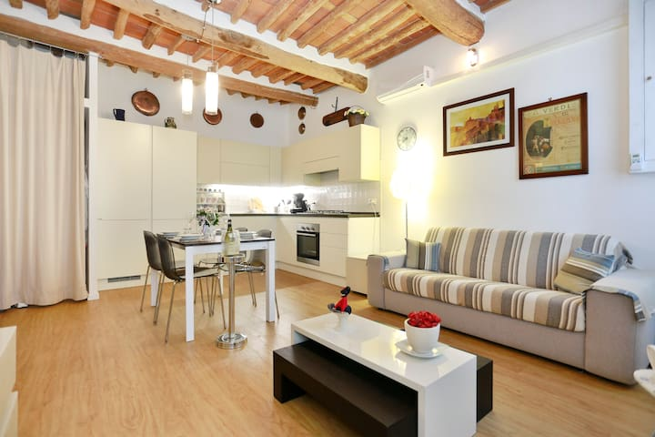 Character-filled apart. close to the city Walls - Lucca - Apartment