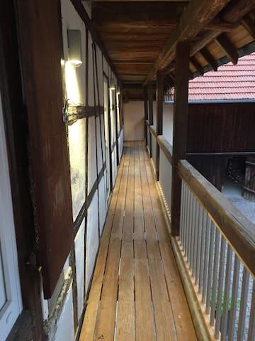 Appartement dans corps de ferme - Entzheim