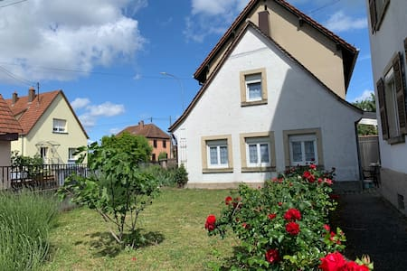 Claude and Nadia's House near Strasbourg