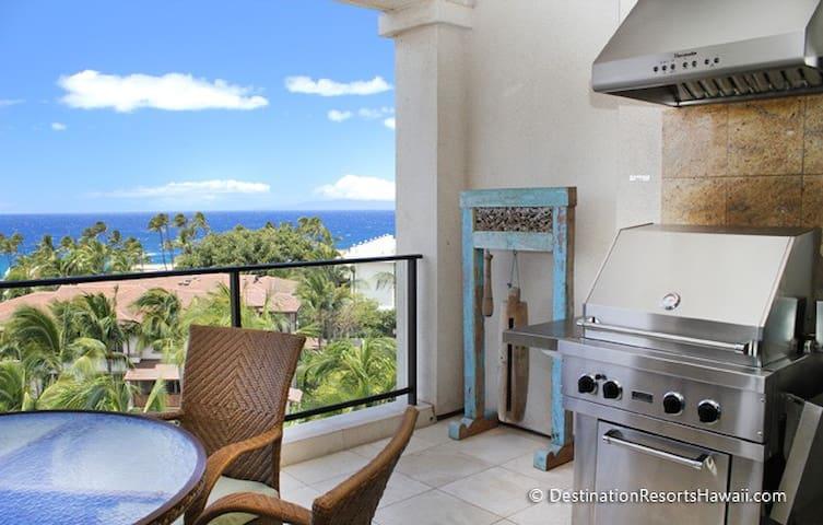 Wailea Beach Villas Penthouse 406 - 2Bd Oceanview - Kihei - Villa