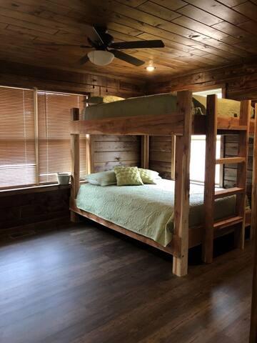 Bedroom 2 - Queen on queen bunk beds