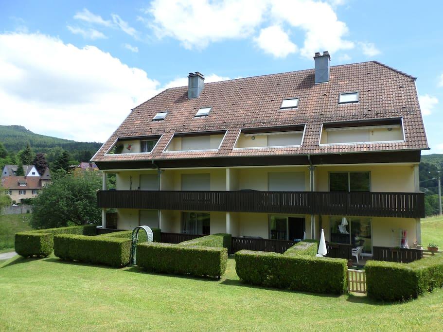 La résidence côté ouest