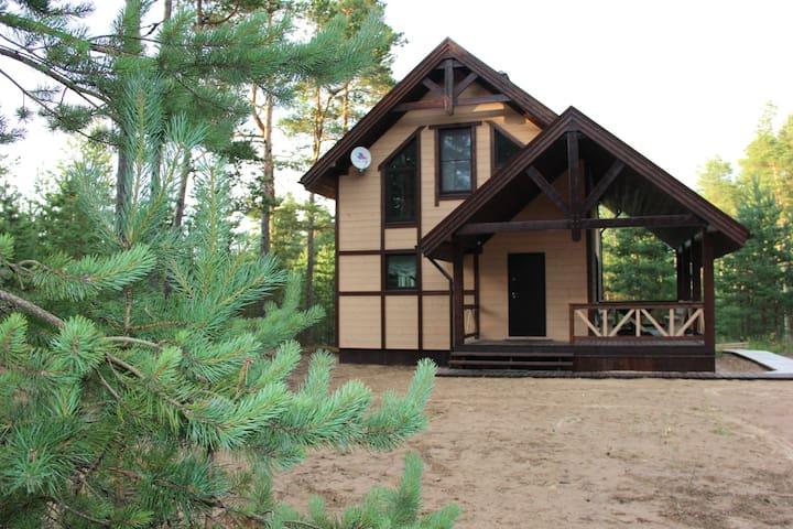Дом в Карелии