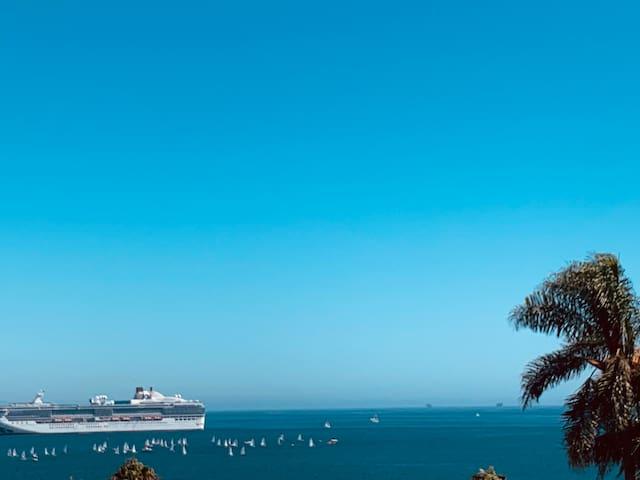 Breath taking panoramic ocean view