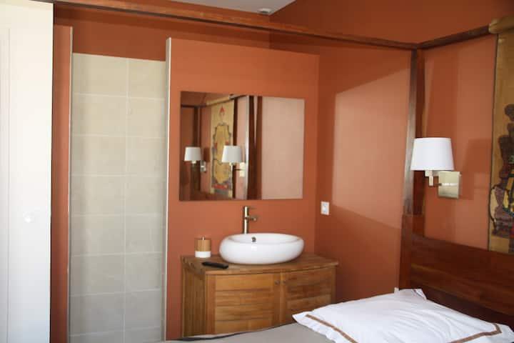 Chambre Terracotta chez Casa Isabel