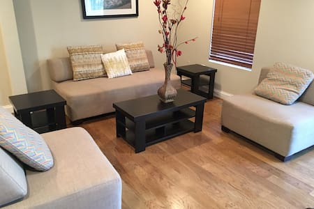 Brand New Fully Furnished Basement/Free Breakfast! - Haus