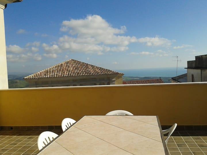 Appartamento splendida vista golfo