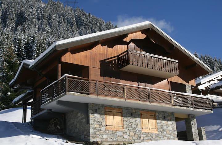 Chalet 12 pers ; spa, sauna, proche ski et centre