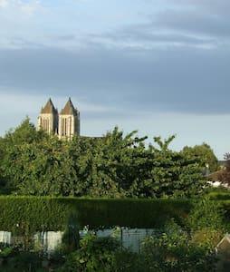 Chambres et jardin, ma maison à Noyon - Noyon - Talo