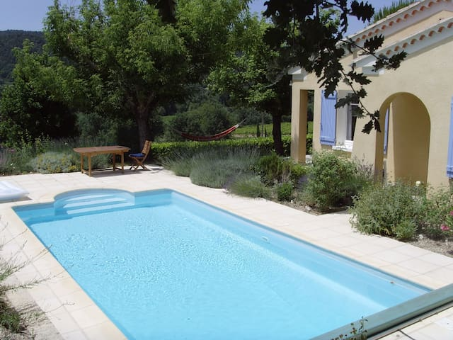 Peaceful villa with private pool and valley views - Saint-Marcellin-lès-Vaison - Bungalow