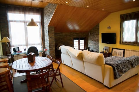 Beautiful attic completely furnished