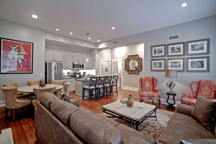 Rare & Beautifully Updated 9 Bed, 8 Bath Townhome