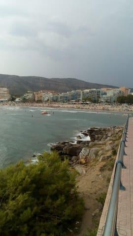 Confortable con Piscina 300 mts. de playa céntrico