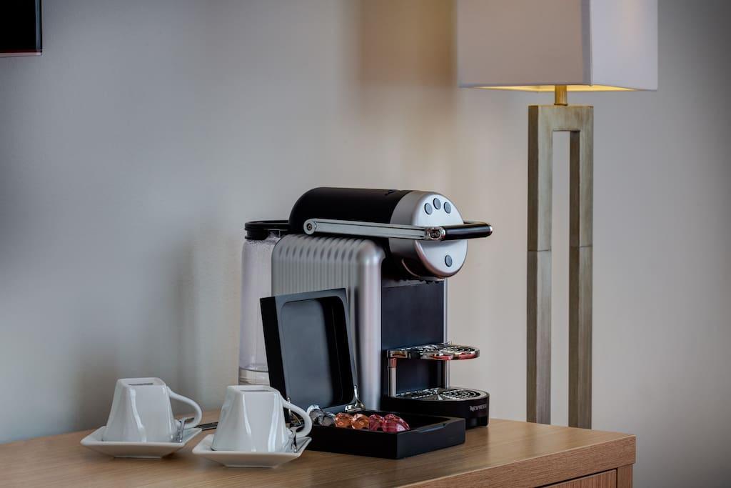 Nespresso coffee free