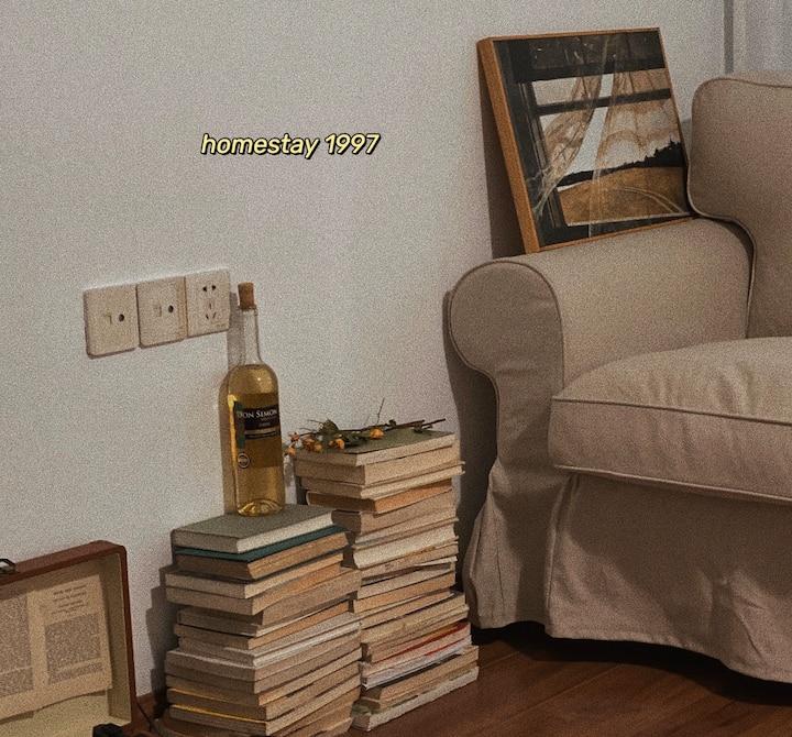 1997民宿/湖南工业大学/投影仪/神龙城/黑胶唱片机/1.8米大床房/榻榻米