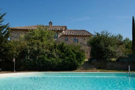 Casa Nocetta @the Vineyard, Tuscany - Camigliano