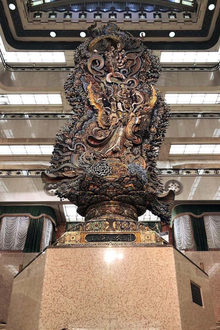 The statue in Mitsukoshi