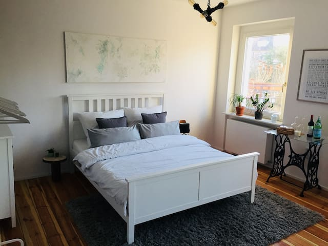 Private room with bathroom in central location