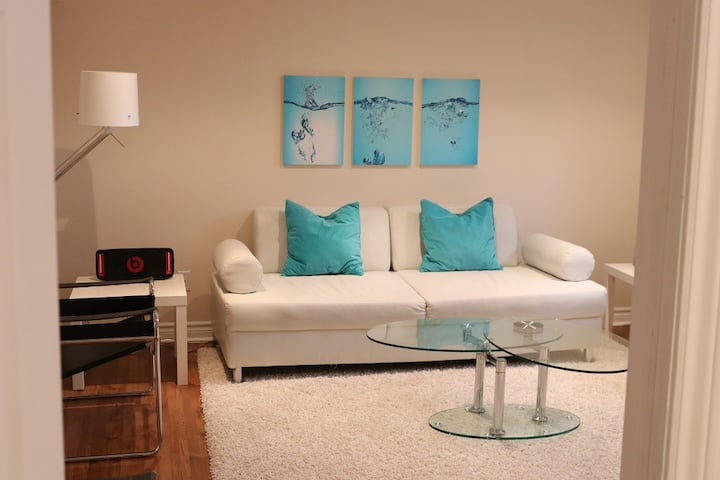 1 bedroom bright and modern house off 401