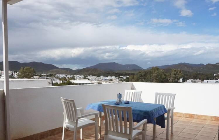 Apartamento con terraza grande y vista phenomenal