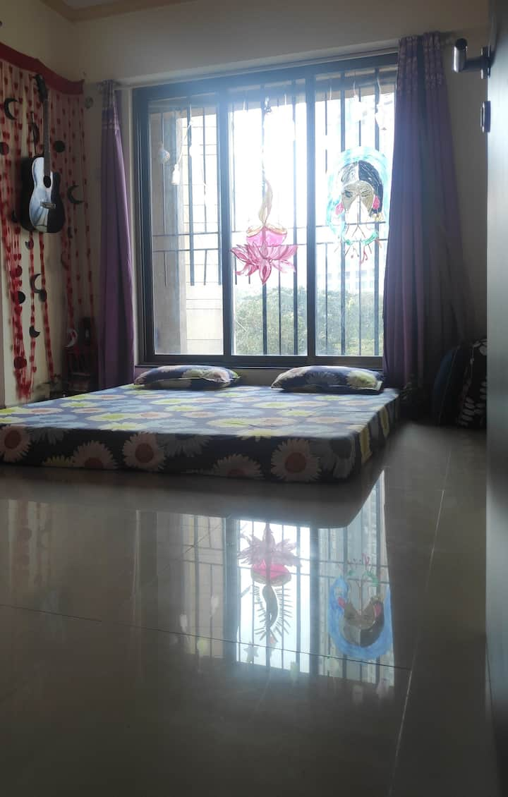 Pvt stay in a spacious 3bhk fully furnished flat