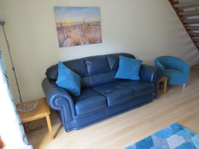 Holiday home in quiet area close to sandy beaches