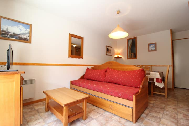 ESS014M - Apartment for 5 persons in the village and near slopes