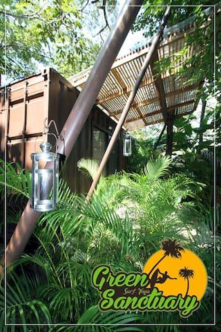 Green Sanctuary Guiones Beach 3Room - Nosara - Bed & Breakfast