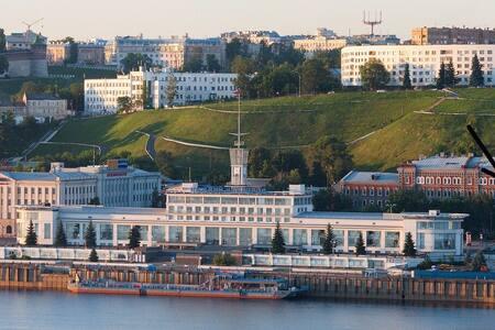 кремль нижний новгород центр набережная