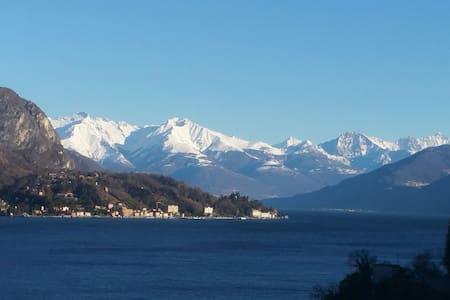 House Anna - love balcony view Lake - Lezzeno