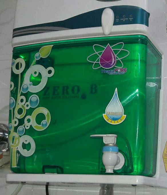 New water purifier installed for you to have pure clean water during your travel and stay here :)