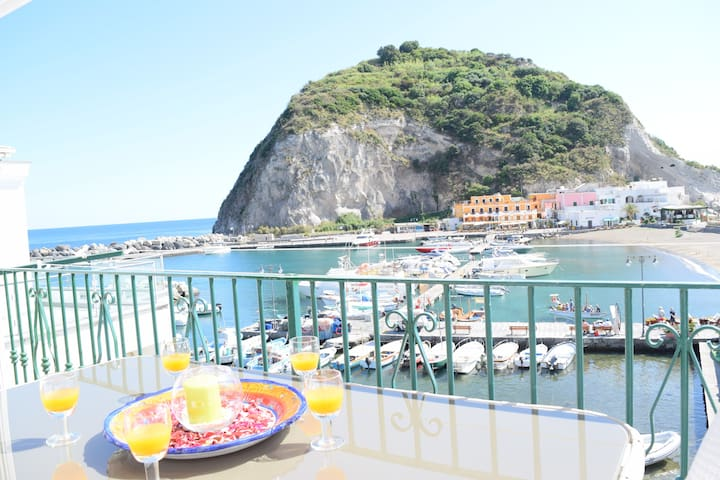 Beautiful Home breathtaking sea view. S.Angelo bay - Sant'Angelo - Maison