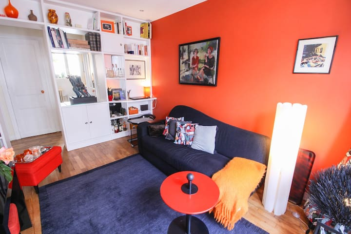 CHARMING AND BRIGHT APARTMENT 2 ROOMS