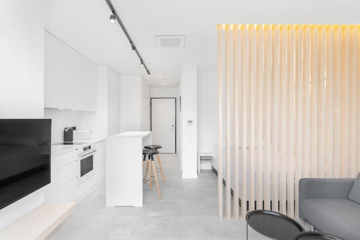 Minimalist studio in the heart of Athens