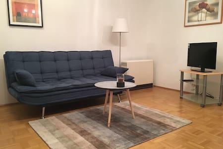 Charmante, ruhige, zentrale Wohnung