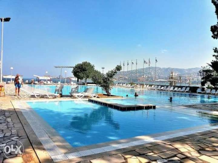 Beach Duplex  In the Heart of Jounieh Bay