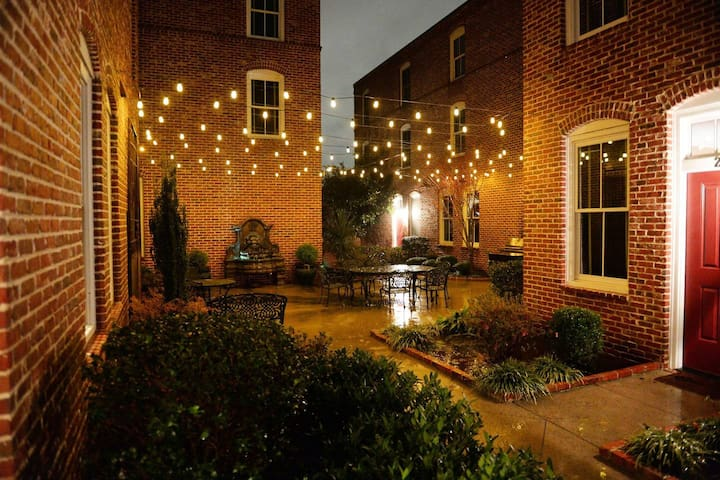 Cozy Townhome w/Charming Courtyard