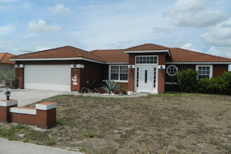 Florida home on Canal with private fishing dock - Port Charlotte - Haus