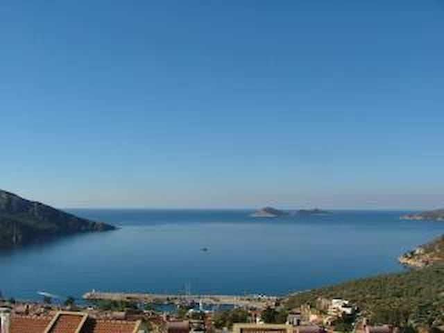 Penthouse duplex, close to town centre bay view - Kaş - Wohnung