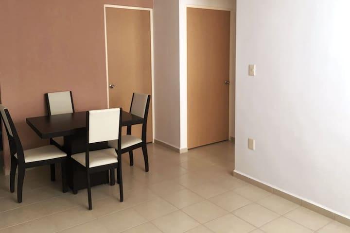 Apartamento privado y nuevo en Gto c/estacionamien