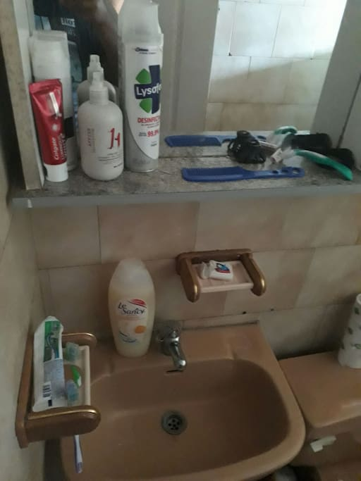 baño equipado