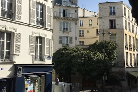 Charmant studio (2 pers) Marais/République