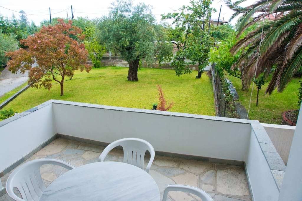 Take your breakfast outside having a great view of our garden