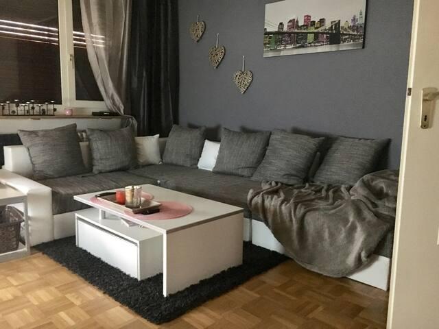 Ruhige 1,5 Zimmer Wohnung im Grünen - Essen - Apartamento
