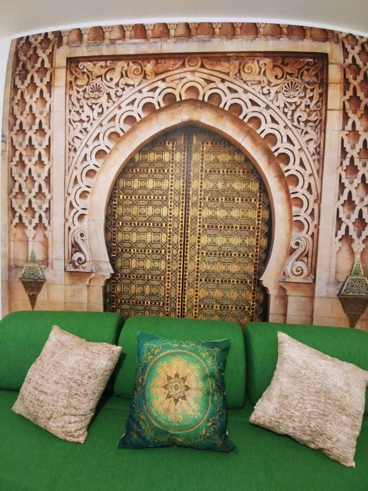 Weltenhaus / Einzelzimmer Marakesh