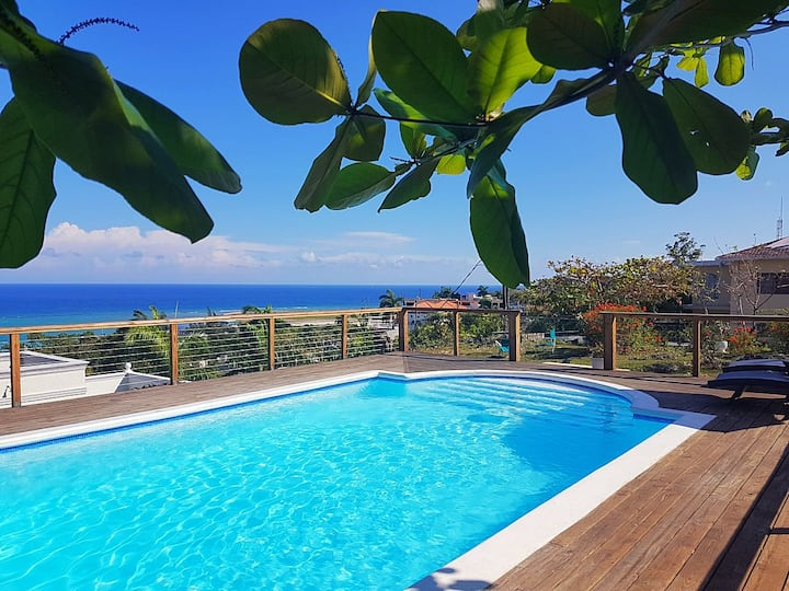 OceanView 2bedrooms,rooftop pool,AirCon throughout