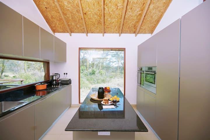 Luxury tent with scenic views in  Naivasha, Kenya